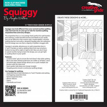 Load image into Gallery viewer, Creative Grids Machine Quilting Tool - Squiggy
