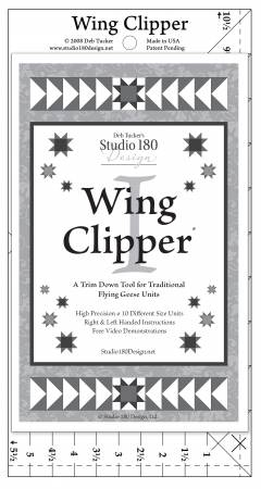 Wing clipper - Flying Geese Perfection
