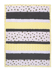 Bee Happy Cuddle Bambino Quilt Kit
