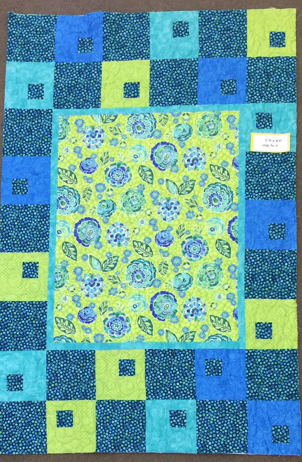 Hop To It Quilt Kit