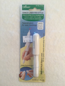 Chaco Liner Pen Style-White