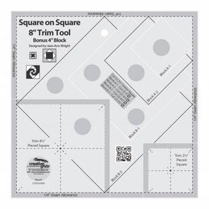 Square on Square Trim Tool - 4in or 8in Finished