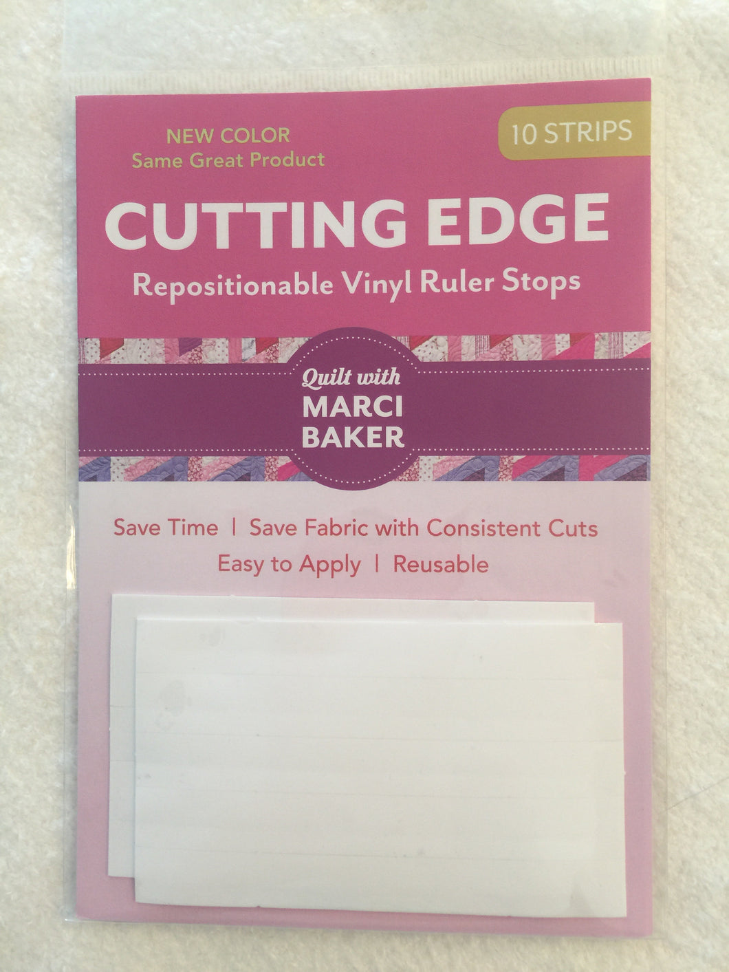 Cutting Edge Vinyl Ruler Stops.