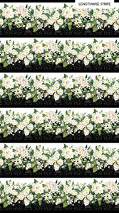 Bouquet - Border Print 1/2 YD