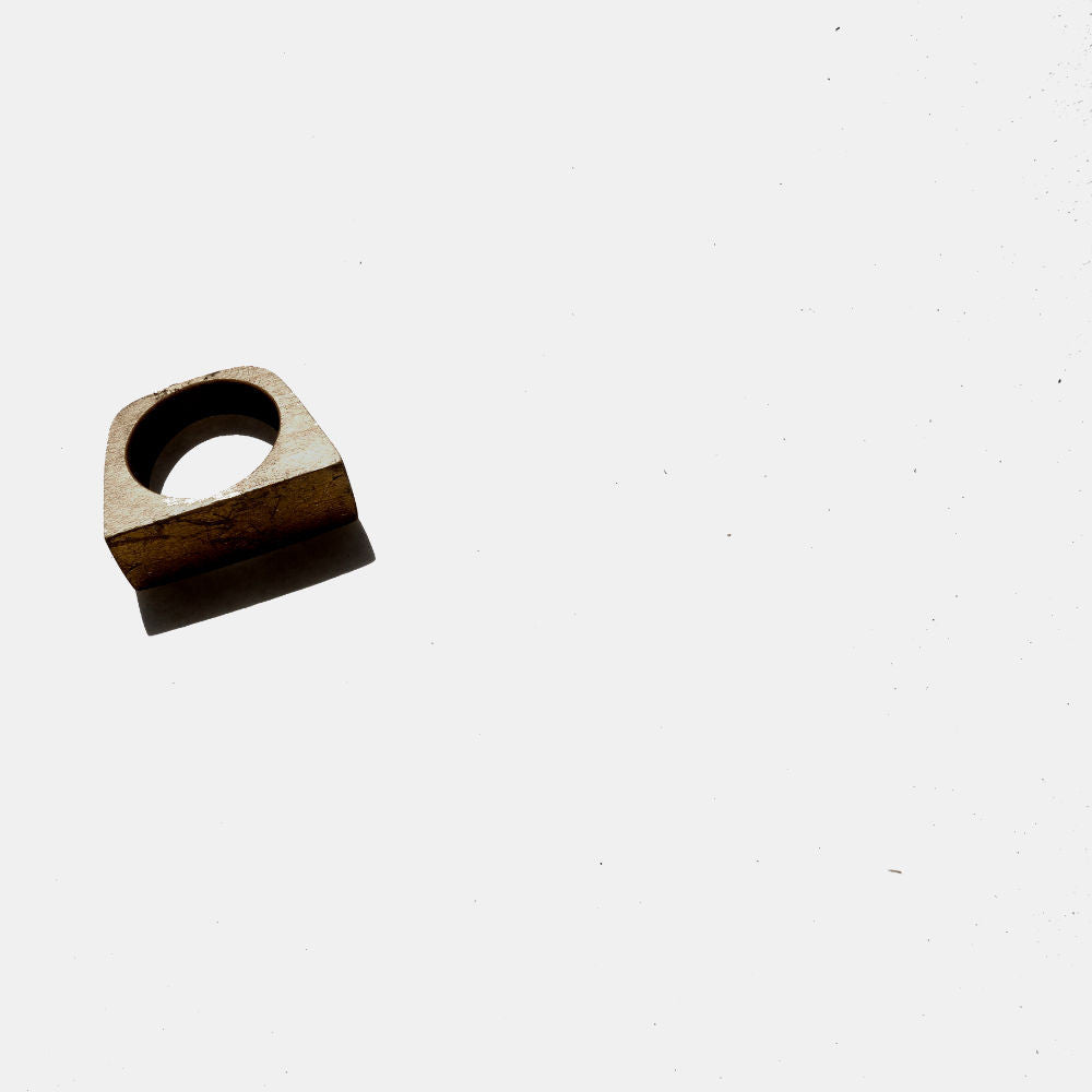 Cut Out Wooden Ring