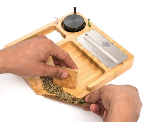how to use a rolling tray