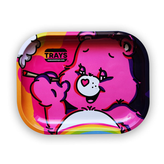 Pink Care Bear - Awesome Rolling Tray