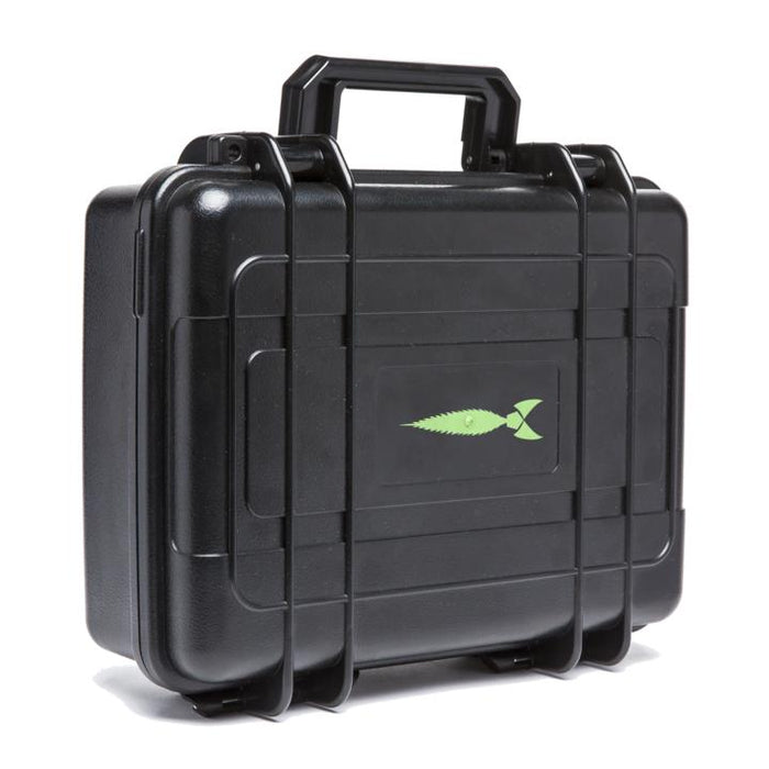 Lockable Smell Proof Hard Case With Glass Foam Protection