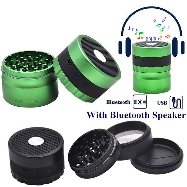 3 Part Grinder with Speaker (Bluetooth)