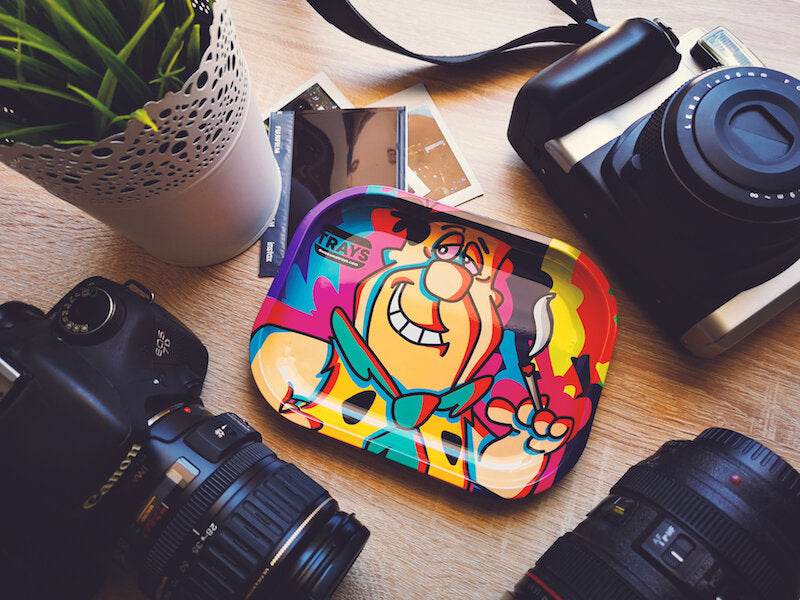 Fred (The Flintstones) - Awesome Rolling Tray