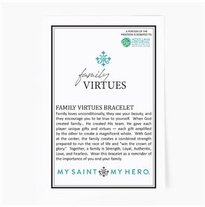 FAMILY VIRTUES BRACELET