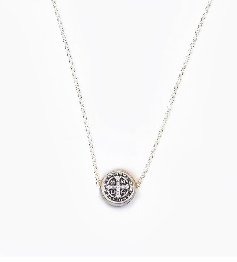 BENEDICTINE BLESSING PETITE NECKLACE
