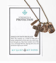 Load image into Gallery viewer, STRENGTH & PROTECTION NECKLACE