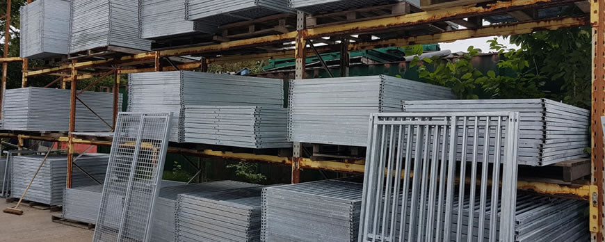Galvanised Panels Stock Delivery Day