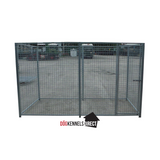 Mesh Modular Dog Kennel - 3m x 1.5m x 6ft - Without Roof