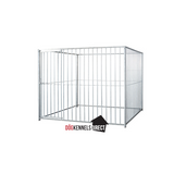 Modular Dog Kennel 5cm Bar 2m x 2m x 6ft - Without Roof