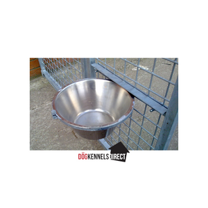 Single Dog Bowl and Holder