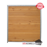 Wooden Kennel Panel - 1.5m x 1.84m