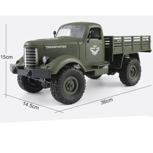 RC Toy Monster Truck Military Vehicles Off-Road