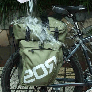 Bike Bag MTB Road Bike Rack Bag 3 in 1 Multifunction