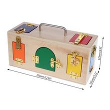 Load image into Gallery viewer, Education Toy Montessori Colorful Lock Box Kids