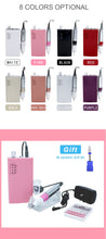 Load image into Gallery viewer, Cute Nail Gel Portable Electric Drill Machine kit