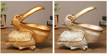 Load image into Gallery viewer, Figurine Pelican Statue Storage Basket