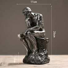 Load image into Gallery viewer, Figurine  Abstract Art Thinker Statue