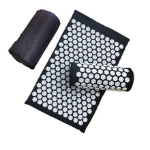 Load image into Gallery viewer, Massager Mat Pillow Lotus Spike Acupressure Foot Neck Yoga Sets