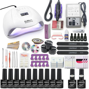 Gel Nail Set for Manicure Kit