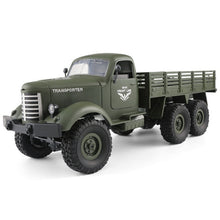 Load image into Gallery viewer, RC Toy Monster Truck Military Vehicles Off-Road