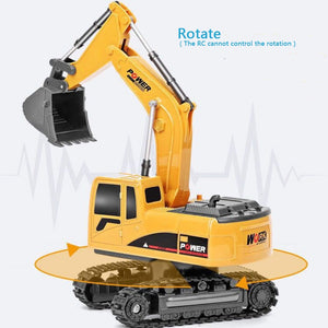 RC Toy Excavator  RTR For kids Christmas gift