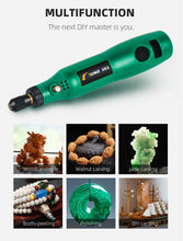 Load image into Gallery viewer, Electric Drill  Cordless Rotary Tool USB Woodworking