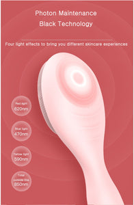 Electric face cleansing brush Silicone USB