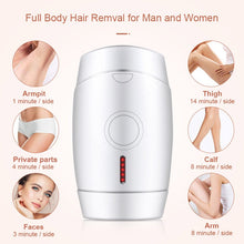 Load image into Gallery viewer, Best at home laser hair removal IPL LCD laser