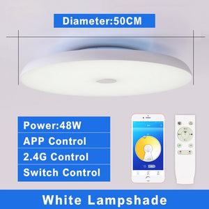 Smart Modern LED ceiling Lights Dim with Remote control