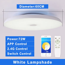 Load image into Gallery viewer, Smart Modern LED ceiling Lights Dim with Remote control