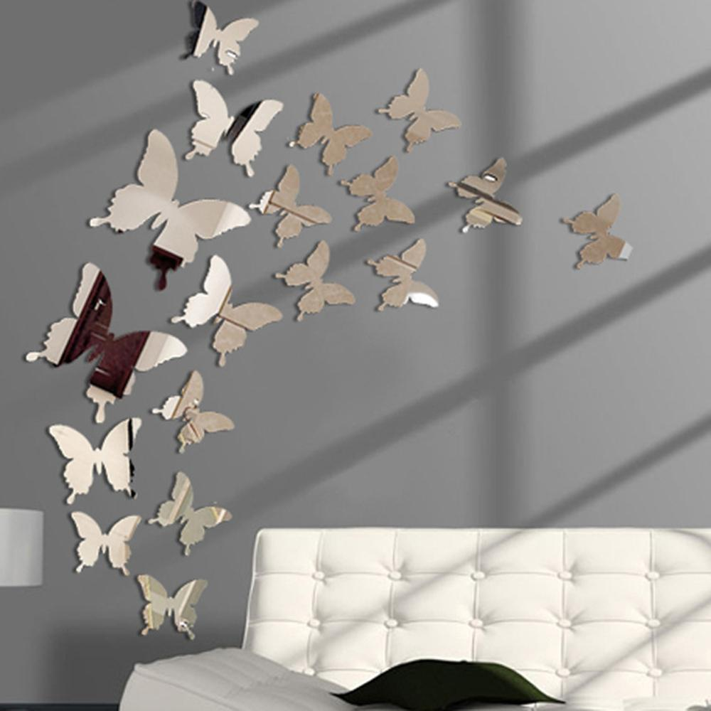 Butterflies Mirror Wall Art