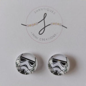 Earrings - Stormtrooper