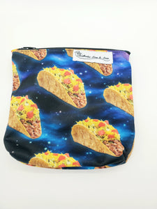 Bags - Small Wet Bags - Space Taco