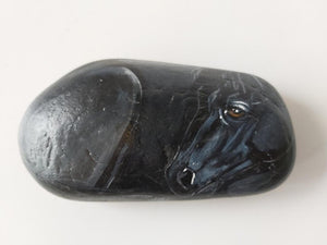 Rock Art - Black Horse