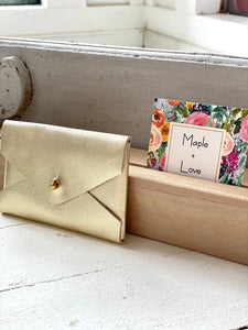Small Wallet - Gold