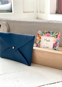 Medium Wallet - Navy Blue