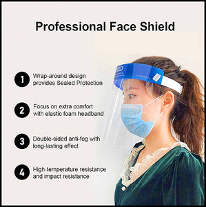 Face Shield Transparent Visor Protection .75 cents per shield (500pcs minimum)