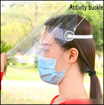 2,000pcs Face Shields Transparent Visor Protection