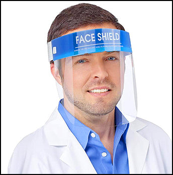 4,000pcs Face Shields Transparent Visor Protection