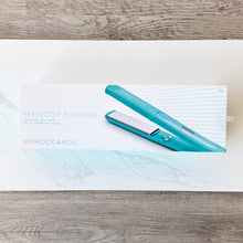 Load image into Gallery viewer, MOROCCANOIL HAIR TOOLS  PERFECTLY POLISHED TITANIUM FLAT IRON