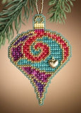 Garnet Spiral - Christmas Jewels