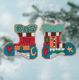 Joy Stockings - Sticks Ornaments