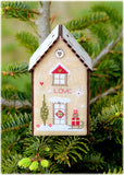 Christmas Birdhouse IV - Love